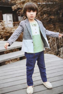 秋装男童外套